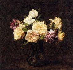 Henri+Fantin-Latour+–+Roses(1894).jpeg (927×890)