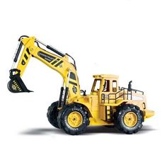 66.50$  Watch here - http://alig5x.worldwells.pw/go.php?t=32310902642 - Detachable Electric Digger Big Remote control Big Size 1:10 RC Truck free shipping Rc Excavator Toy 66.50$
