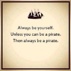 Be a Pirate