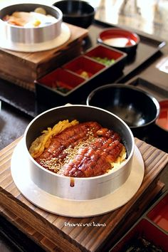 Japanese Unagi Kamameshi, Iron Pot Rice with Kabayaki Grilled Eel|うなぎ釜飯