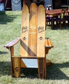 From water skis to adirondack chair