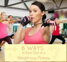 Get ready to crush that weight-loss plateau with these 6 tips!