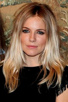 Hiukset syksy 2013,hiusten liuksuvärjäys tummemmaksi,liukuvärjäys vaaleisiin hiuksiin