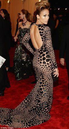 Jennifer Lopez in Michael Kors @ The Met Gala 2013