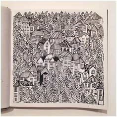 Blog: Little Boxes on the Hillside - Doodlers Anonymous