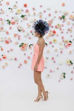 Inspiration: How to Make a Floral Backdrop * Lou What Wear *