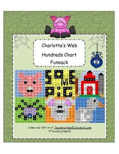 Charlottes Web -Hundreds Chart Hidden Picture