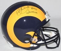 """ERIC DICKERSON Signed LE Rams Full-Size Authentic Pro-Line Helmet Inscribed """"HOF 99"""" & """"2105 YDs"""" STEINER COA LE 29 - Game Day Legends"""