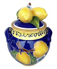 Take a look at this Lemon Cookie Jar today! Barrel Cake, Cookie Jars, Cookie Containers, Lemon Kitchen, Lemon Cookies, Vintage Cookies, Tea Mugs, Tea Set, Pottery