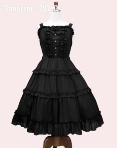 Innocent World Tiered Doll JSK I want black, but I'll take burgandy as well
