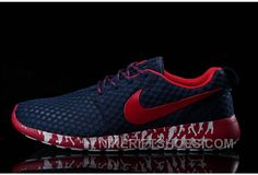 40fc404e23 Buy New Arrival 2015 Nike Sculpture Roshe Run Mens Running Shoes For Cheap Navy  Blue Red from Reliable New Arrival 2015 Nike Sculpture Roshe Run Mens ...