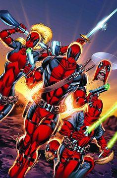 #Deadpool #Fan #Art. (Deadpool Corps Vol.1 #12 Cover) By: Rob Liefeld. (THE * 5 * STÅR * ÅWARD * OF: * AW YEAH, IT'S MAJOR ÅWESOMENESS!!!™)[THANK U 4 PINNING!!!<·><]<©>ÅÅÅ+(OB4E)