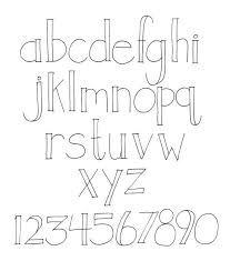 Bildergebnis für hand lettering alphabet
