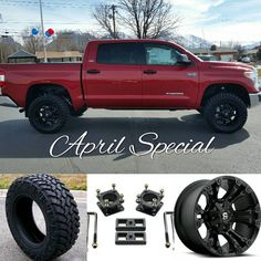 "780 Likes, 41 Comments - Tundra Offroad (@tundraoffroad) on Instagram: ""APRIL SPECIALS*  3/1 Level Lift  33"" Trail Grappler Tires  20"" Fuel Wheels  Installed for only…"""