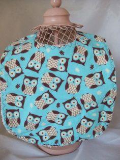 Hoot Owl Baby Toddler bib