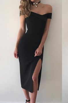 41a16d0b6b Women Dress Sexy Off The Shoulder Short Sleeve V-Neck Party Summer Dress  2017 New Fashion Casual Mid-Calf Length Pencil Vestidos  Visit to Buy