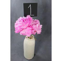 Chalkboard table numbers