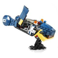 LEGO Police Spinner from Blade Runner, a custom kit by Ichiban Toys.