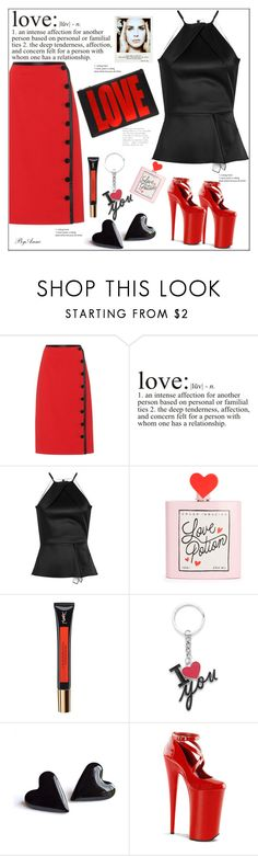 """Love"" by anne-977 ❤ liked on Polyvore featuring Altuzarra, WALL, Roland Mouret, Yves Saint Laurent, Polaroid, Givenchy, amazing, love, girl and lovelycombo"