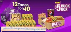 Taco Bell Coupons Ends of Coupon Promo Codes JUNE 2020 ! Satisfy your aspirations with Taco Bell when you crave the taste of the South. Taco Bell Coupons, Pizza Coupons, Mcdonalds Coupons, Grocery Coupons, Bakery Supplies, Party Supplies, Free Printable Coupons, Free Printables, Wendys Coupons