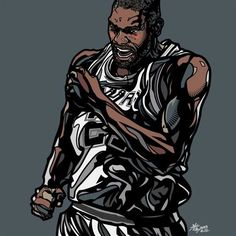 Tim Duncan 'Bank Shot' Art