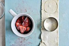 Strawberry Mug Pies