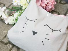 DIY-Anleitung: Süße Katzentasche mit Schnittmuster nähen via DaWanda.com