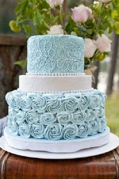 Wedding cake. I don't like the short middle layer.