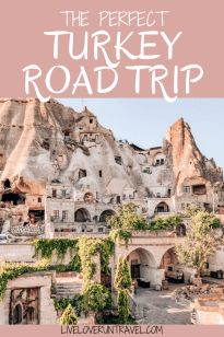 Considering a road trip in Turkey? Find out everything you need to know about driving in Turkey with an easily adjustable 6 day Turkey itinerary. European Travel, Asia Travel, Places To Travel, Travel Destinations, Travel Tips, Travel Guides, Thermal Pool, Perfect Road Trip, Road Trip Hacks