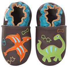 Road Trip 0-6 Months Momo Baby Boys Soft Sole Leather Shoes