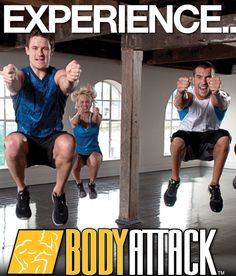 Les Mills Body Attack!
