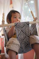 Baby and Toddler Swing DIY - A Beautiful Mess Logan needs this :)