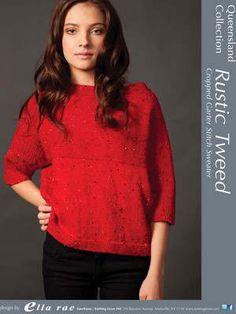 Garter stitch cropped (?) sweater
