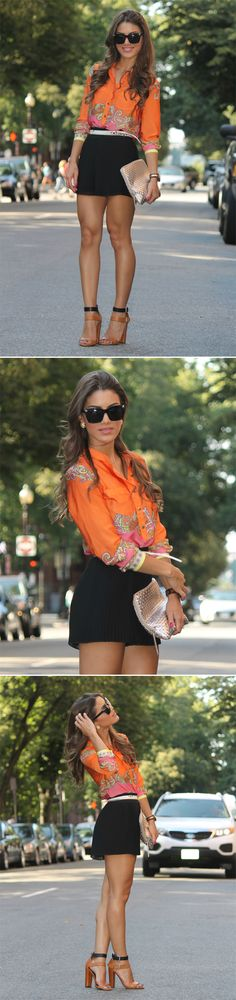 Love the top....love the combination!!