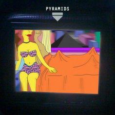 Frank Ocean - Pyramids album cover
