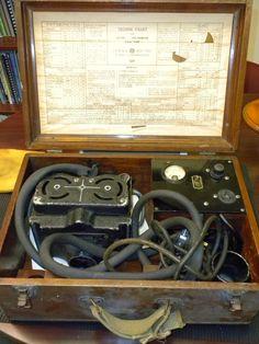 Equipo radiologia portatil en primera guerra mundial