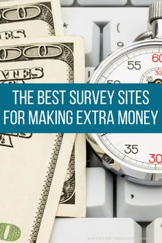 8 of the Best Survey Sites to Take Surveys for Cash-Want to get paid to take surveys from legit survey sites? This list of the best paid survey sites will get you started in earning extra money from home. Online Surveys For Money, Surveys For Cash, Take Surveys, Earn Money Online, Online Jobs, Earning Money, Survey Websites, Survey Sites That Pay, Make Money From Home