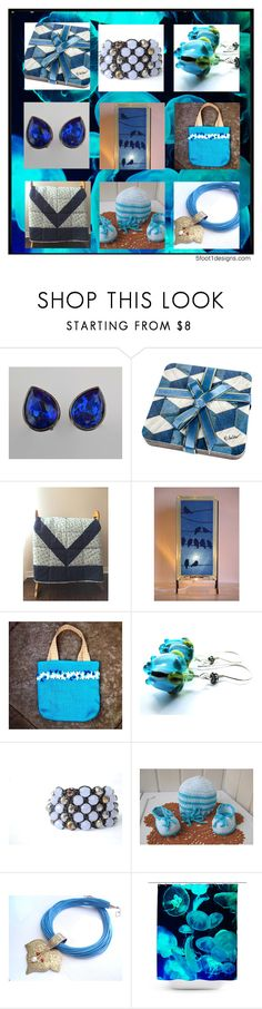 Blue For You! by fivefoot1designs on Polyvore featuring Shamballa Jewels and Progetto