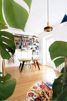 Colores para pintar un piso pequeño - Con un toque verde | Galería de fotos 9 de 18 | AD