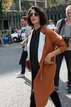 See the First Street Style Snaps From Milan Fashion Week: Fashion Month moves pretty fast — especially if you've been following the street style.