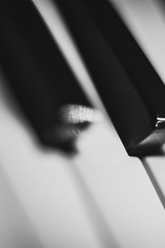 Free stock photo of black-and-white, music, piano, keys