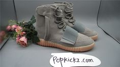 Adidas Yeezy Boost 750 Grey Gum Glow In The Dark size:4-13 ready to ship!