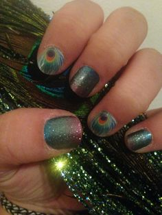 Jamberry nails  Shake your tail feather Carnival