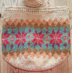 beautiful fair isle style tapestry crochet