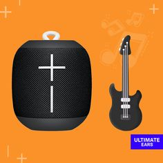 Aquele solo de guitarra consegue sair sinistro da sua #WONDERBOOM.   Qual sua banda de rock favorita? 🎸🤘 Marketing Digital, Bluetooth, Electronics, Go Outside, Social Networks, Guitar Solo, Rock Bands, Consumer Electronics