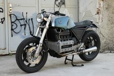 BMW's K100 Sports Tourer is a motorcycle that few people would consider when planning a custom build. Despite it's 1000cc, 4 cylinder mot...