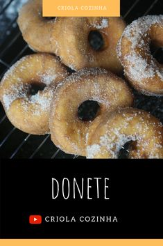 Portuguese Food, Portuguese Recipes, Beignets, Cape Verde Food, Desserts Around The World, Cap Vert, Verde Recipe, Canary Islands, Donuts