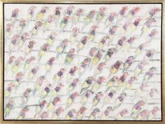 Hunt Slonem - Finches | From a unique collection of paintings at http://www.1stdibs.com/art/paintings/