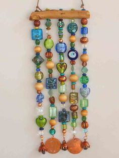 Beaded Wind Chime by LTreatDesigns