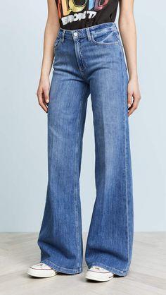 4b0263d7 Wide High Jeans i 2019 | januari 19 | Jeans, Hög midja och Bomull